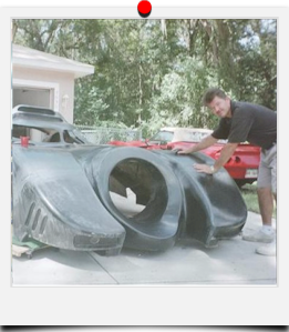 Kevin's 1989 Batmobile Build